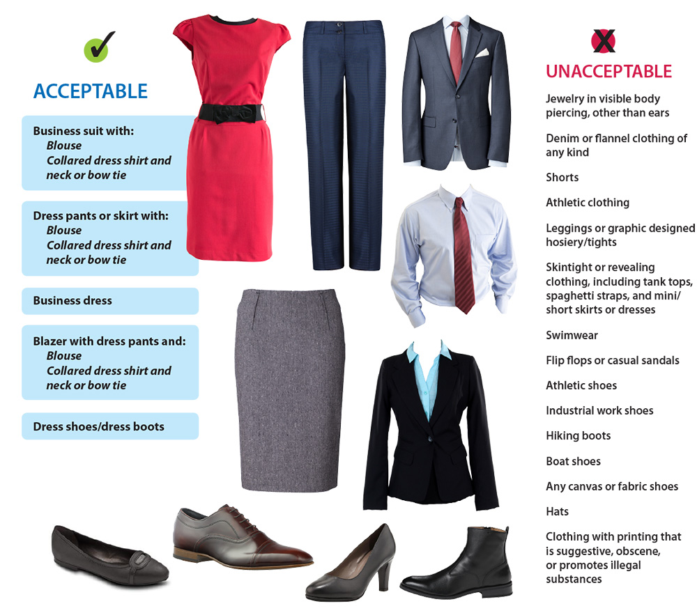 FBLA PBL 2020 National Conference Dress Code Guide